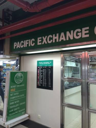 PACIFIC EXCHANGE